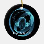 DJ CHRISTMAS ORNAMENT