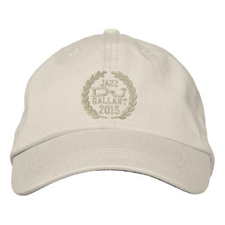 DJ Classic Laurels to Personalize Name Event Year! Embroidered Baseball Hat
