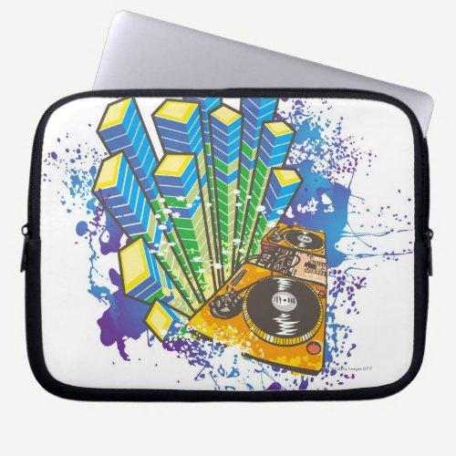 DJ Control Panel Laptop Sleeve