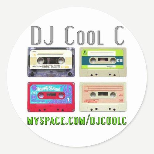 DJ Cool C Mixtape Sticker