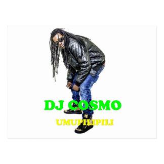 DJ Cosmo Fanshop Post Card