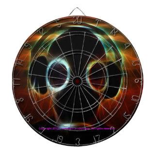 DJ Crazy dart board