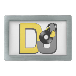 DJ custom belt buckle