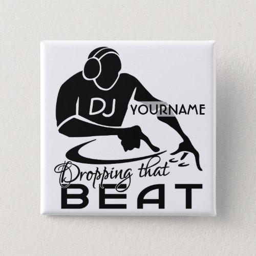 DJ custom button
