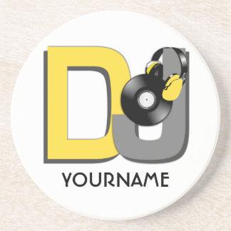 DJ custom coaster