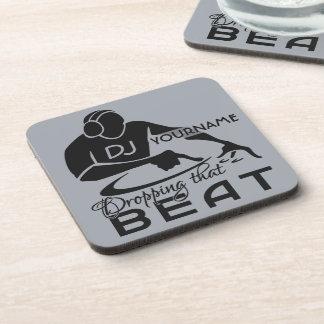 DJ custom coasters