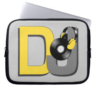 DJ custom color laptop sleeve