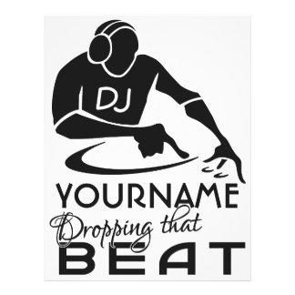 DJ custom flyers