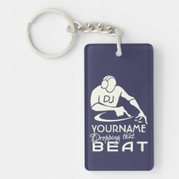 DJ custom key chain