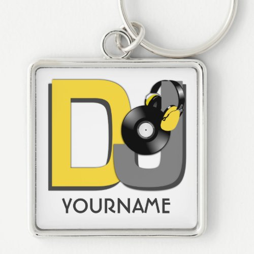 DJ custom key chain