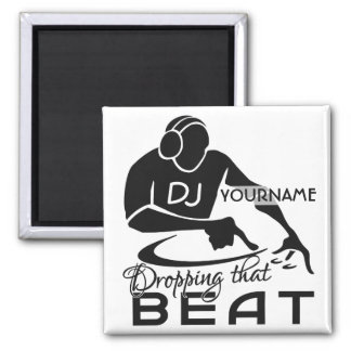 DJ custom magnet