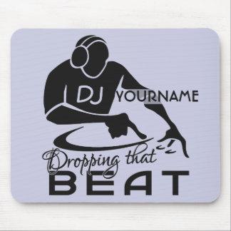 DJ custom mousepad