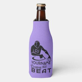 DJ custom name & color bottle cooler