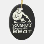 DJ custom ornament