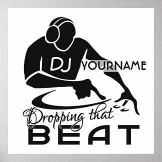 DJ custom poster