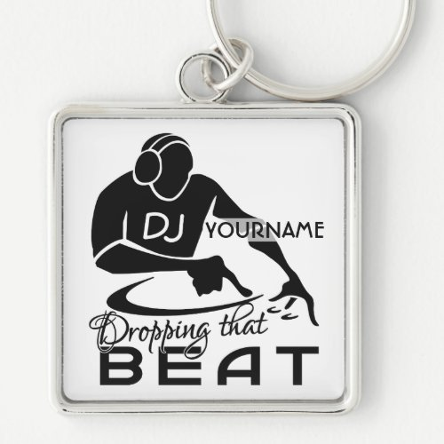 DJ custom premium key chain