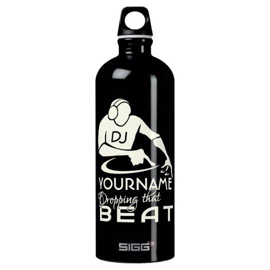 DJ custom Water Bottle