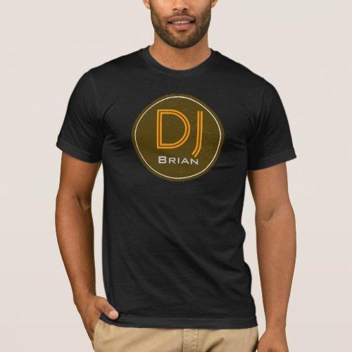 DJ customized name T-Shirt