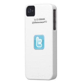 DJ D DRAMA iPhone 4/4S Twitter Series Case White