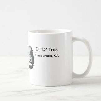 """Dj """"D"""" Trax MUG"""