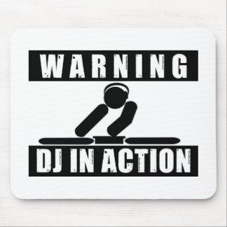 DJ de cuidado en cojín de ratón de la acción Tapetes De Raton
