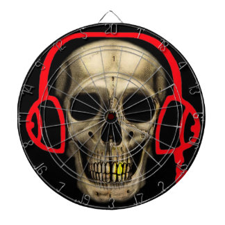 DJ Death Dartboard With Darts