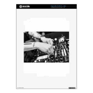 Dj Deejay Music Night Nightclub Club Night Club iPad 2 Skin