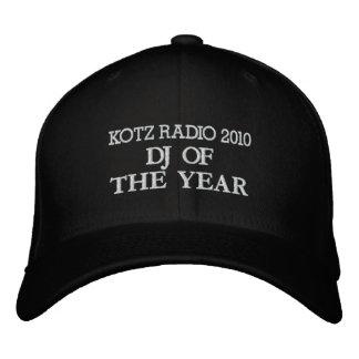 DJ DEL AÑO, RADIO 2010 DE KOTZ GORRA BORDADA