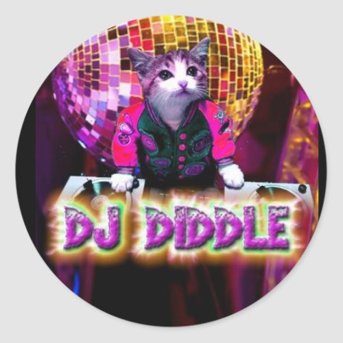 DJ DIDDLE STICKER