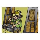 DJ Disc Jockey Cards