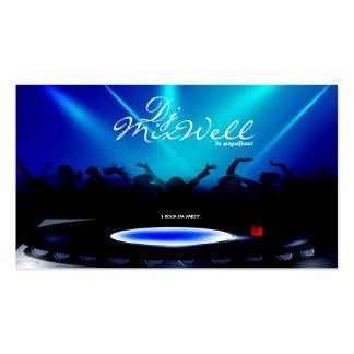 DJ Disc Jockey Club Party Business Card