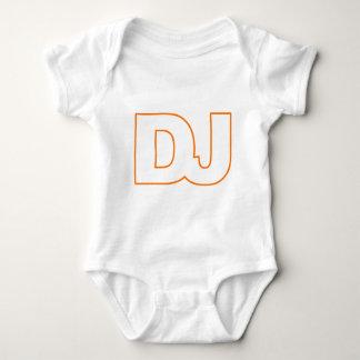 DJ - Disc Jockey, Music, Vinyl, Record, DJing Baby Bodysuit