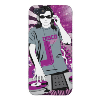 Dj disco cover for iPhone SE/5/5s