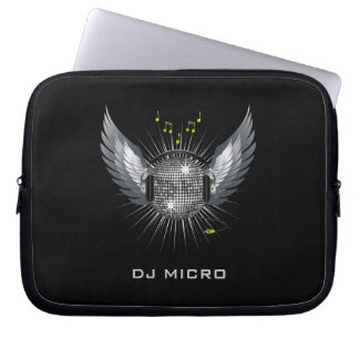 "DJ Disco Laptop Sleeve/Bag [starting from 10""] Computer Sleeve"
