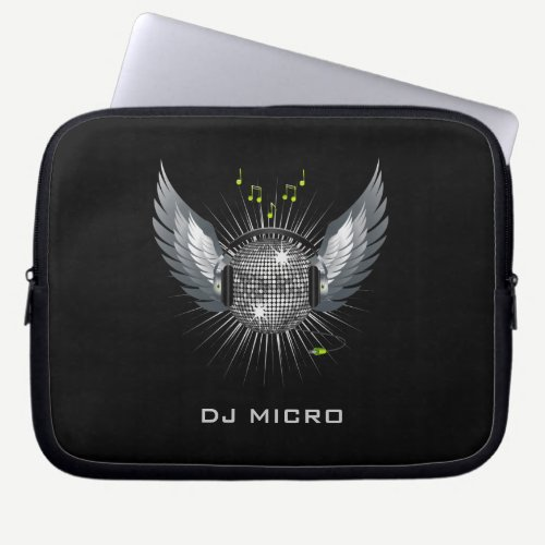 "DJ Disco Laptop Sleeve/Bag [starting from 10""] Computer Sleeve"