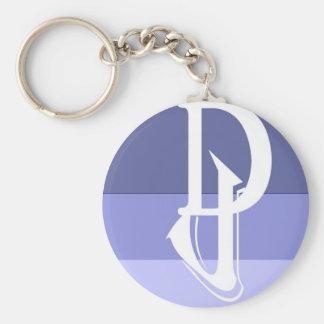 DJ (Diversity Justice Alt Logo) Keychain