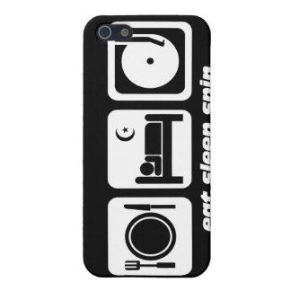 DJ divertido iPhone 5 Fundas