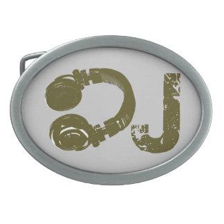 DJ - DJ's Oval Belt Buckles