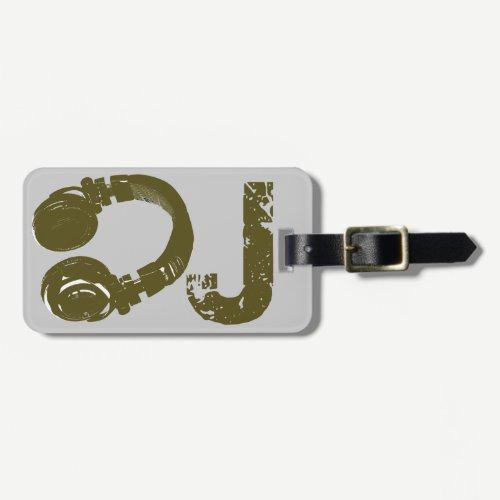 DJ - DJ's Luggage Tag