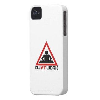DJ en la casamata de la identificación del iPhone iPhone 4 Carcasa