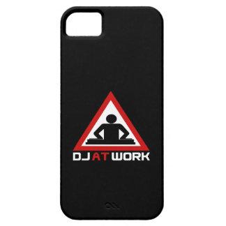 DJ en la cubierta del iPhone 5 del trabajo iPhone 5 Fundas