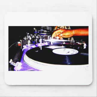 DJ Equipment Mouse Pad