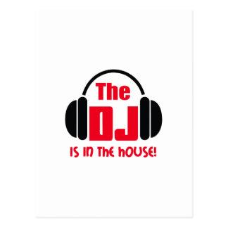 DJ ESTÁ EN LA CASA TARJETAS POSTALES