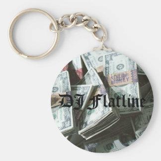 DJ Flatline Keychain