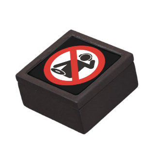 DJ free zone Jewelry Box