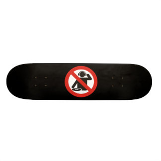 DJ free zone Skateboard Deck