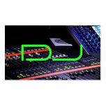 DJ fresco Tarjeta Personal