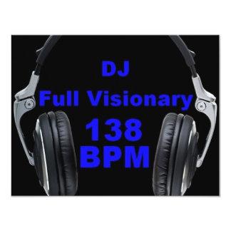 Dj Full Visionary 138 Bpm Shirt Card