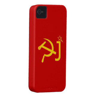Dj Funny USSR Flag iPhone 4 Cover