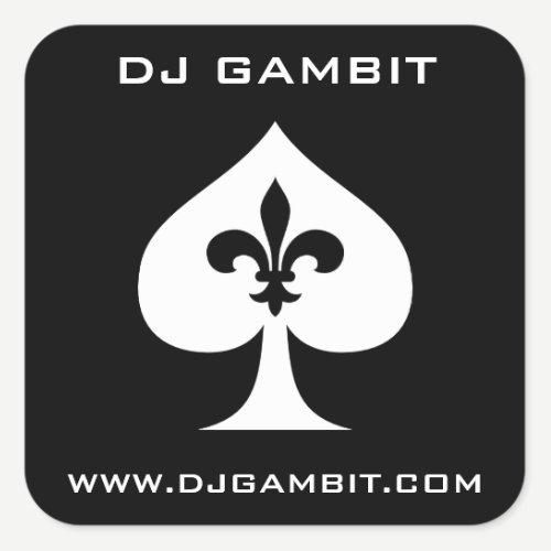 DJ GAMBIT STICKERS